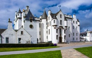 Blair Castle in Blair Atholl