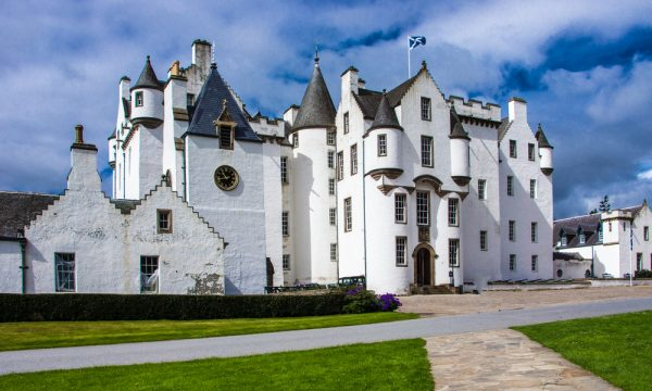 Blair Castle in Blair Atholl, Perthshire
