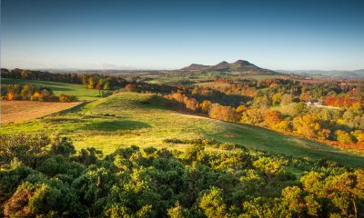 Scotts view in the Scottish Borders