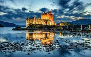 Eileen Donan Castle in the Highlands