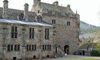 The rear of Falkland Palace