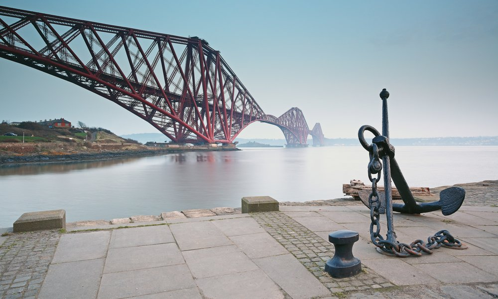 The Forth Railway Bridge at North Queensferry