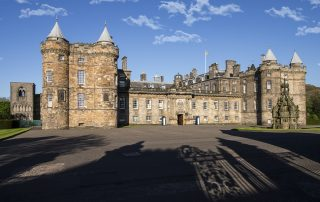 The Palace of Holyroodhouse Edinburgh