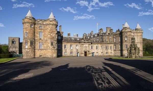 The Palace of Holyroodhouse Edinburgh