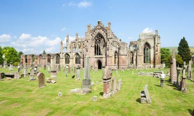 Melrose Abbey Ruins