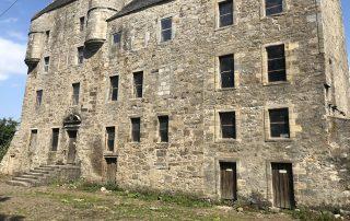 Midhope Castle, set of Lallybroch in Outlander