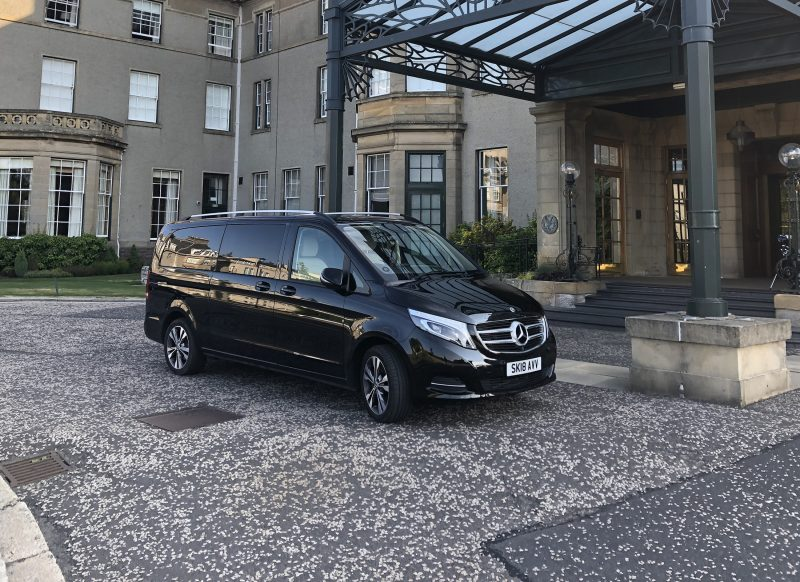 Mercedes V Class Premium Tour vehicle