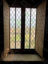 Craigmillar Castle window view
