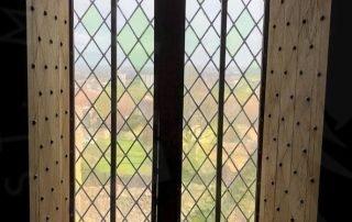 Craigmillar Castle window view