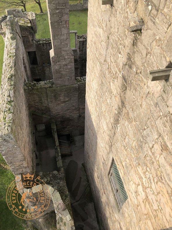 Craigmillar Castle ruins