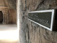 Craigmillar Castle Lord's hall sign