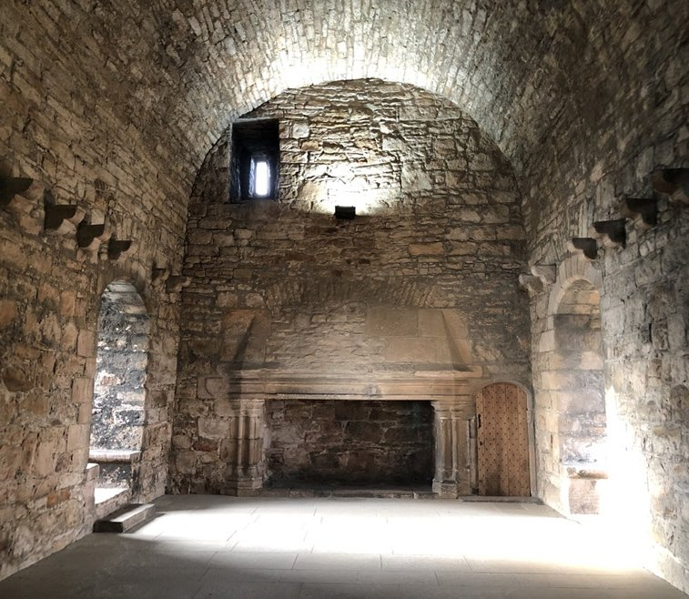 The Lord's hall in Craigmillar Castle