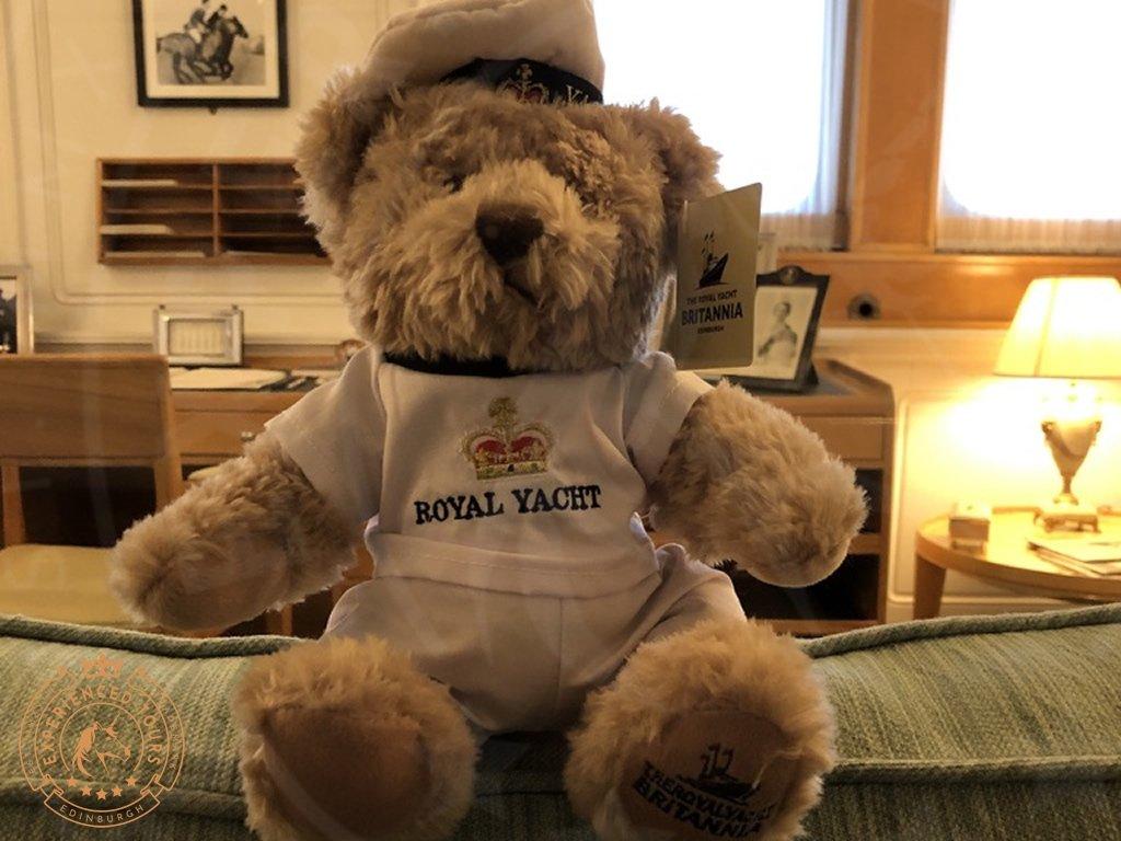 Royal Yacht Britannia teddy