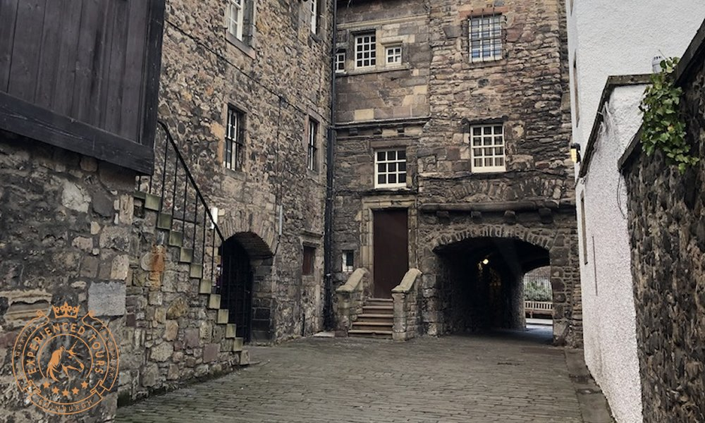 Bakehouse Close on The Royal Mile