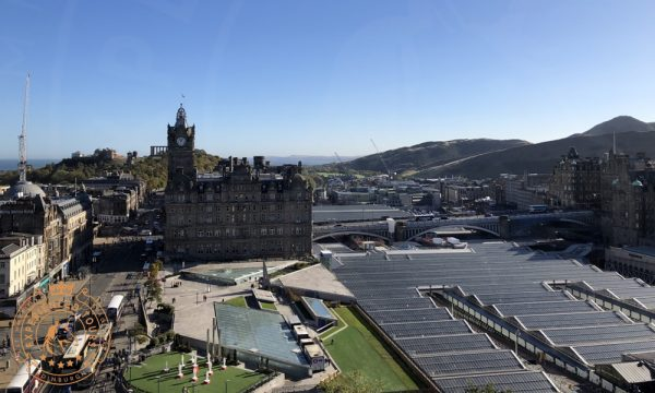 View from Scott Monument towards North Bridge