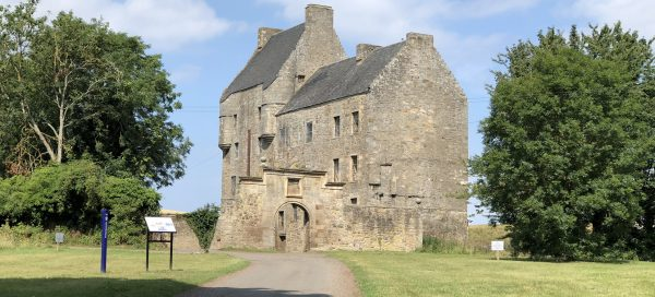 Midhope Castle near Edinburgh, used as the set for Lallybroch in The Outlander TV series