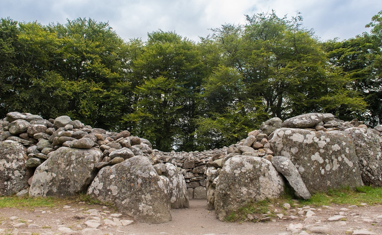 Clava Cairns prehistoric burial ground