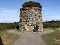 Memorial Cairn at Culloden