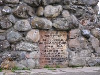 Culloden Battle Cairn