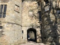 Falkland Palace main entrance tower house