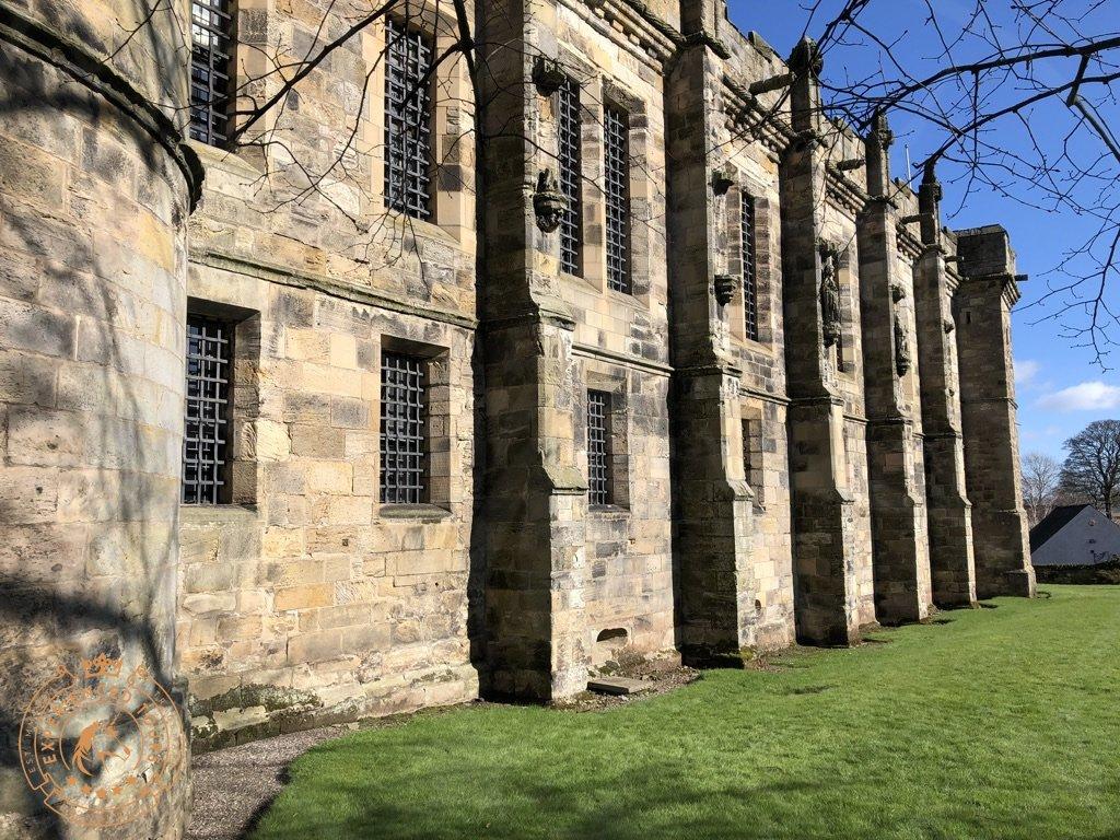 Falkland Palace exterior frontage