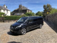 Tour Van in Duddingston Village