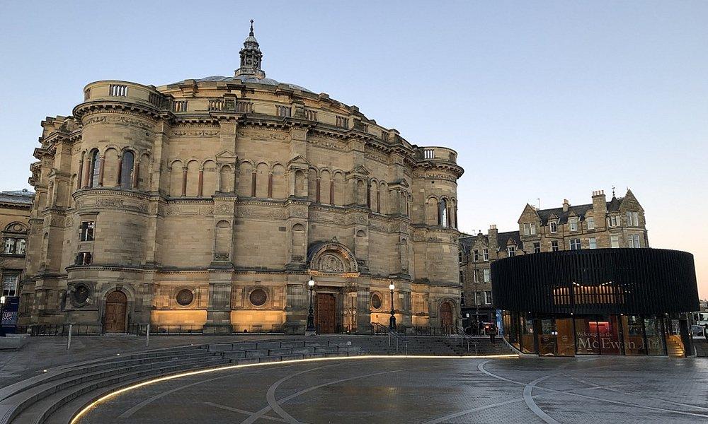 The McEwan Hall in Edinburgh at Dusk
