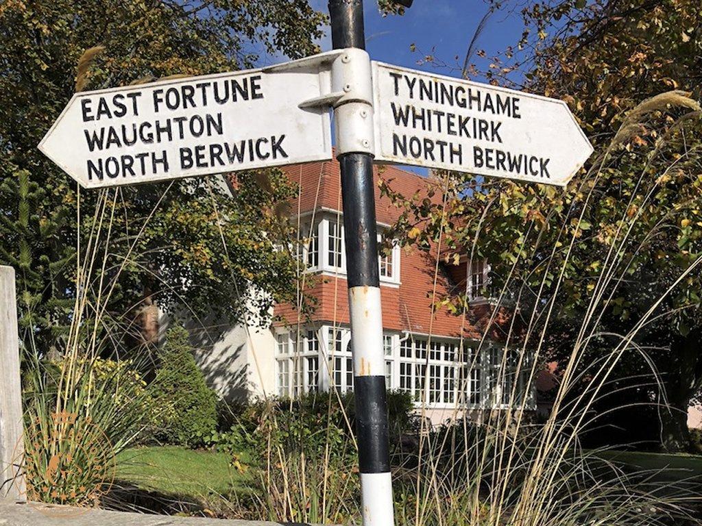 Sign in East Linton, East Lothian