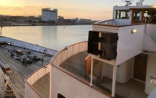 Royal Yacht Britannia view