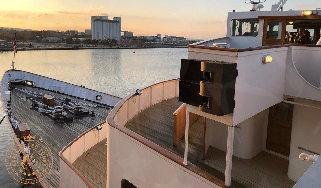 Royal Yacht Britannia view