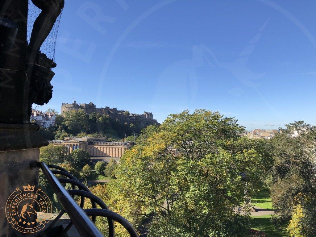 View from the Scott Monument Edinburgh