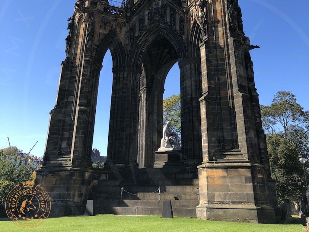 View of the Scott Monument Edinburgh