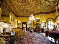 The lavish staterooms in Alnwick Castle