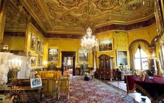 The lavish staterooms in Alnwick Castle