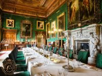 The Dining Room at Alnwick Castle