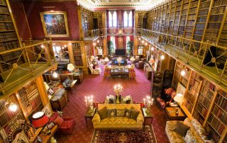 The Library at Alnwick Castle