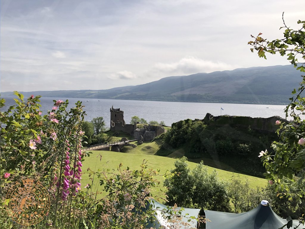 Classic view over Urquhart Castle