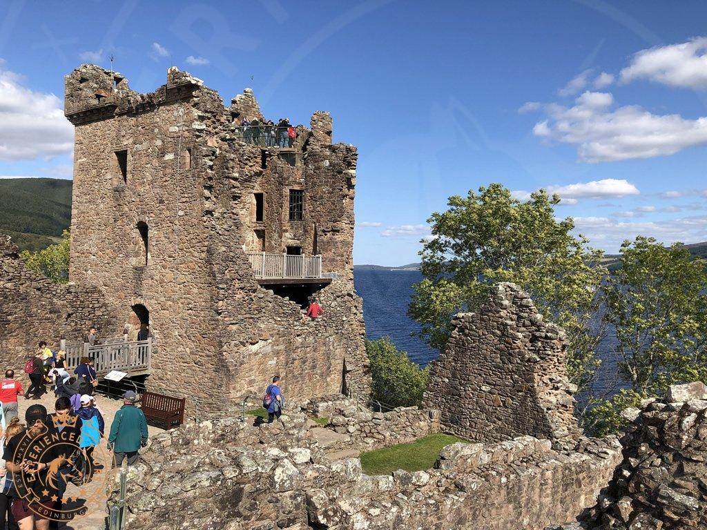 The McEwan tower at Urquhart Castle