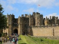 Alnwick Castle Entrance