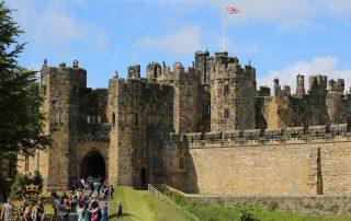Alnwick Castle Entrance