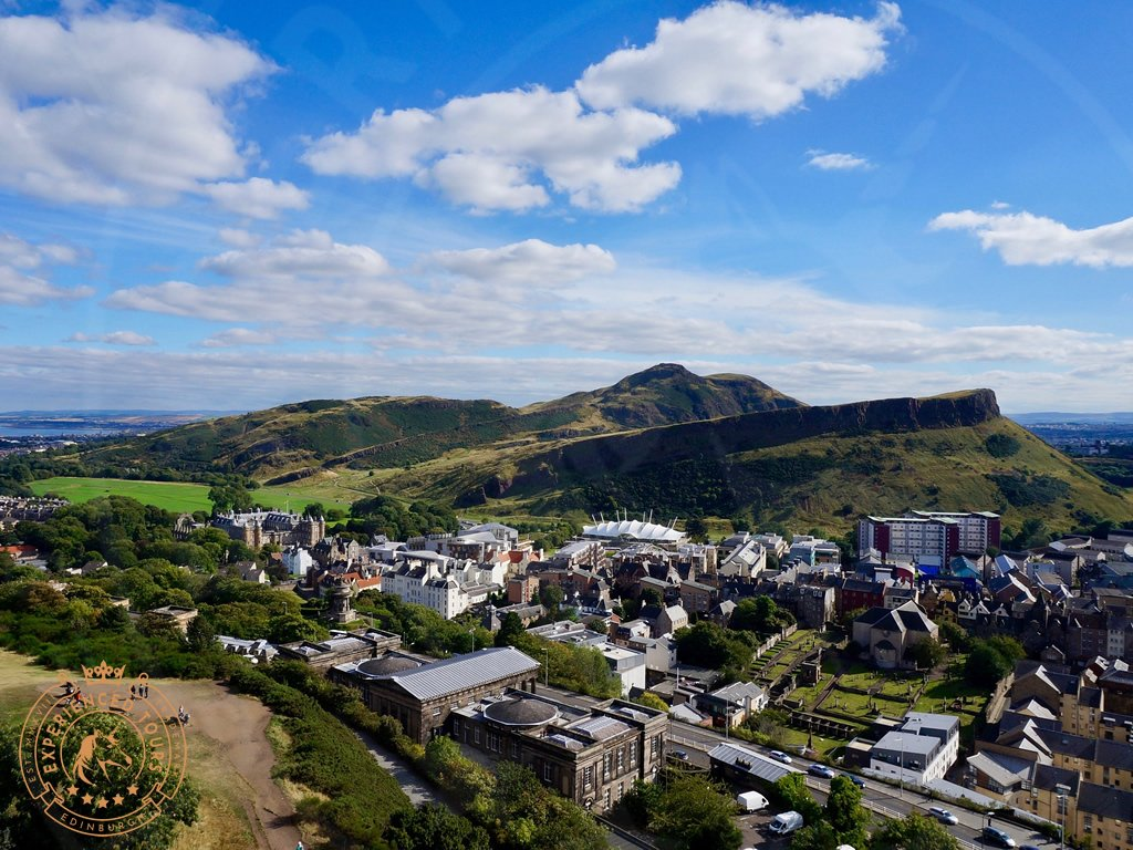 View to Arthur's Seat from Calton Hill