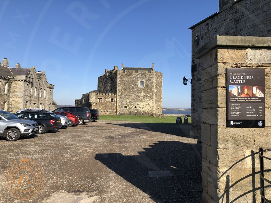 The Entrance to Blackness Castle