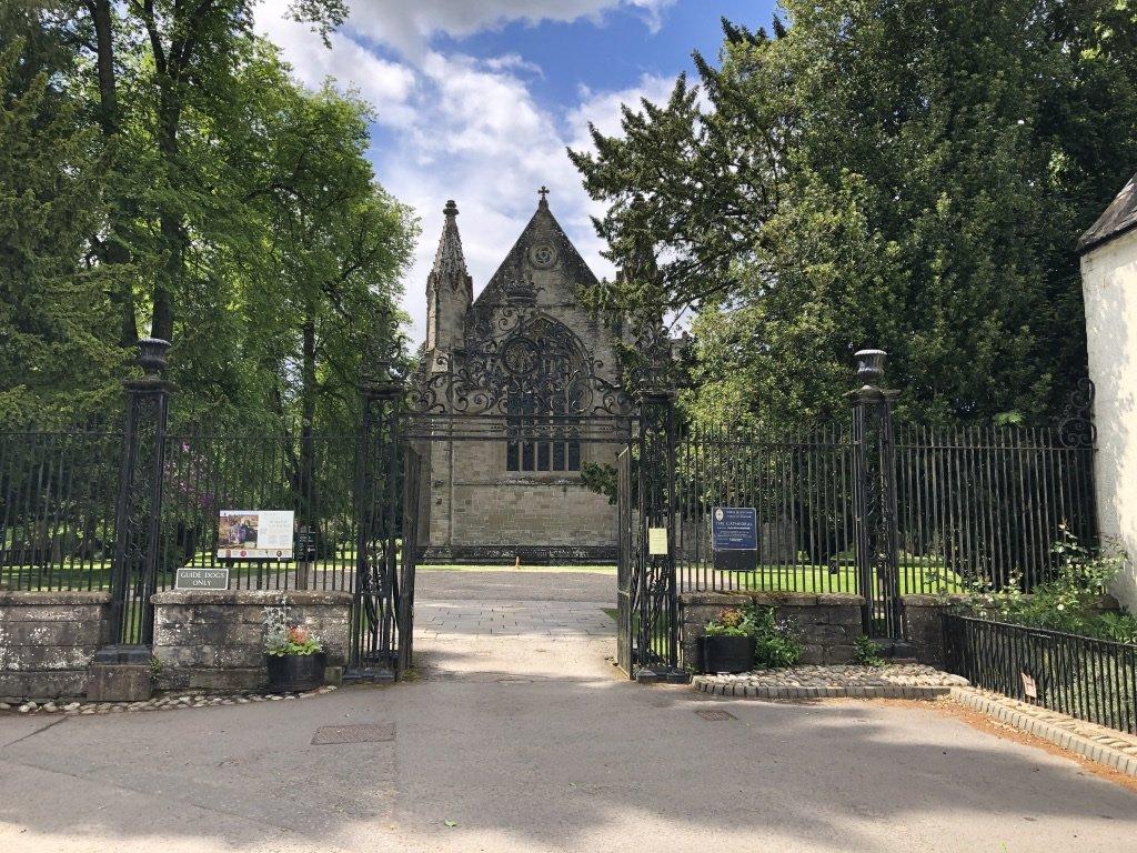 Entrance to Dunkeld Cathedral header image