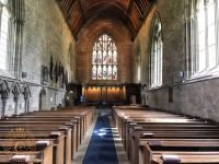 Dunkeld Cathedral interior view