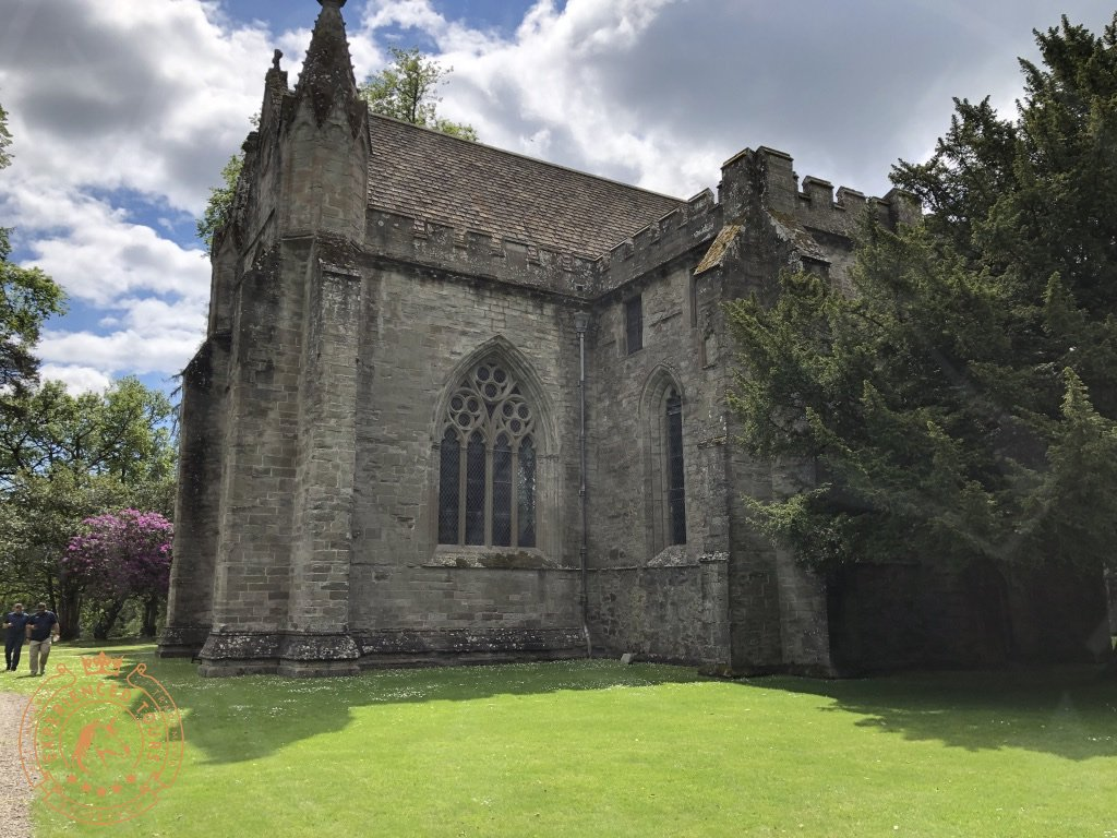 Dunkeld Cathedral side view