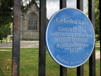 Cathedral Gates sign