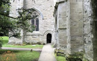 Entrance to the Bell Tower at Dunkeld Cathedral