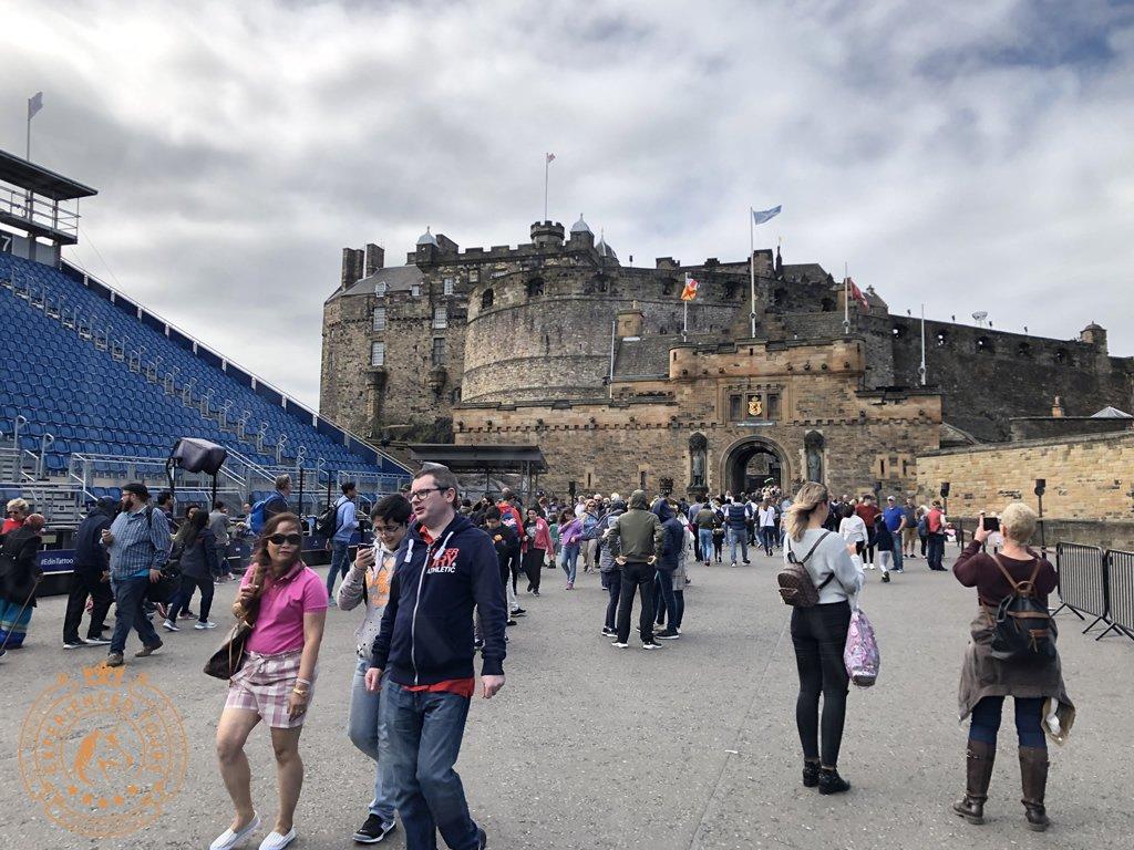 Esplanade of Edinburgh Castle