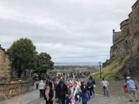 Exterior view at Edinburgh Castle