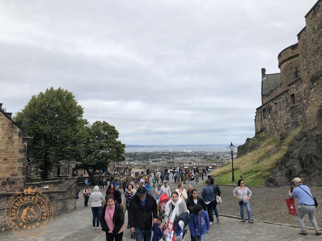 Exterior view at Edinburgh Castle
